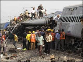 रेल दुर्घटना