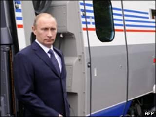 Премьер-министр России Владимир Путин на саммите в Финляндии