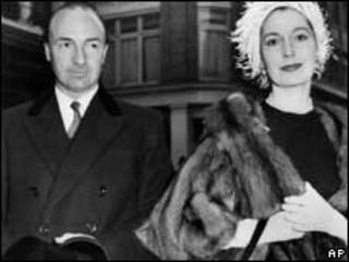Margot Fonteyn con John Profumo