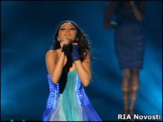 Азербайджанская певица Сафура