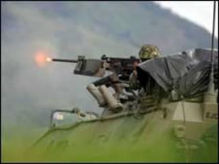 Tanque do Exército colombiano (arquivo)