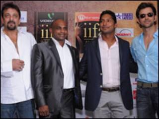 क्रिकेट और फ़िल्म सितारे