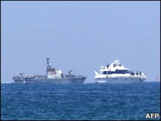 کشتی نظامی اسرائیلی