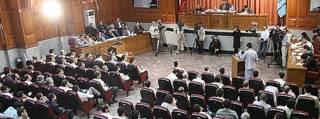 تصویری از یک دادگاه حوادث انتخاباتی