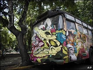 Autobús en México