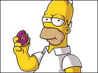 """Кадр из мультфильма """"Симпсоны"""""""