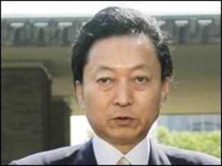 O primeiro-ministro do Japão, Yukio Hatoyama