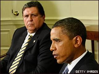 Alan García y Barack Obama