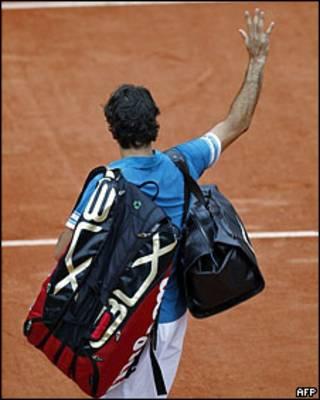 Роджер Федерер уходит с корта