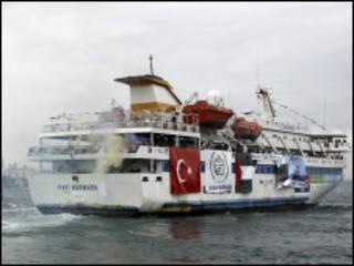 السفينةالتركية مرمرة