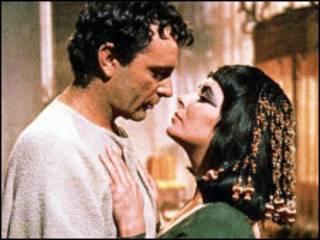 ریچارد برتن و الیزابت تیلور