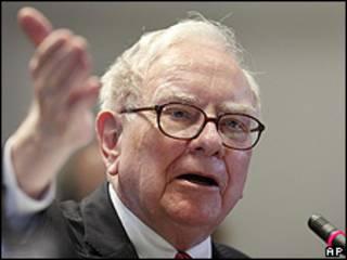 Warren Buffet, inversor y accionista de Woody's.