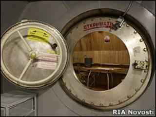Макет марсианского корабля