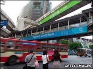 Đường phố Bangkok (ngày 24/5/2010)