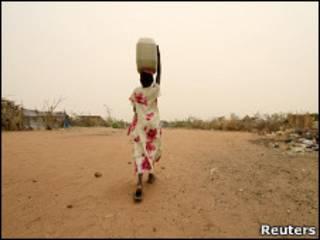 فتاة من دارفور