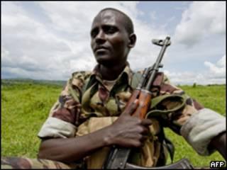 Сомалийский солдат
