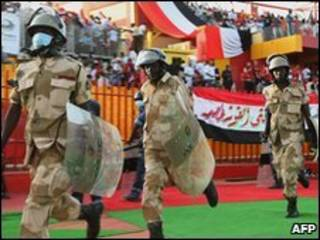 'Yan sandan Sudan