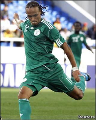 پیتر اودموینجی،بازیکن تیم ملی نیجریه