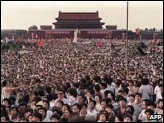1989年6月2日天安门民主运动