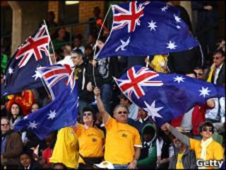 تماشاگران تیم ملی استرالیا