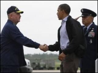 Đây là chuyến thăm lần thứ ba của ông Obama tới vùng Vịnh Mexico