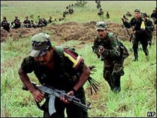 Guerrilleron de las FARC.