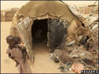 Kijiji katika jimbo la Darfur