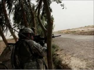 Hari kan sojojin Nato a Afghanistan
