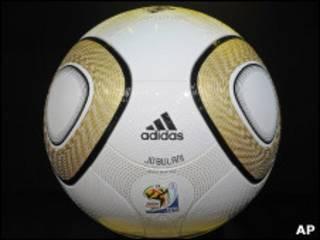 Bola Jabulani, usada na Copa do Mundo da África do Sul