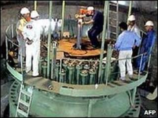 المشروع النووي الإيراني