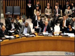 رای گیری در شورای امنیت