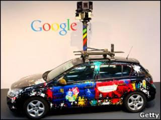 Машина Google StreetView