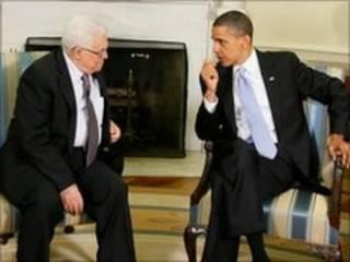 Mahmoud Abbas e Barack Obama se reuniram em Washington