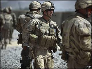 Soldados canadenses no Afeganistão (arquivo)