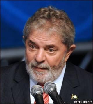 الرئيس البرازيلي، لويس إيناسيو لولا دا سيلفا