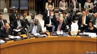 رای گیری شورای امنیت