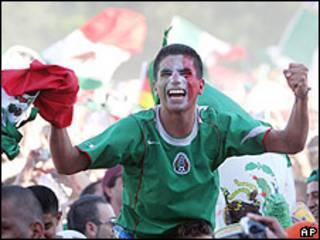 Fans de México en el Mundial de Alemania 2006.