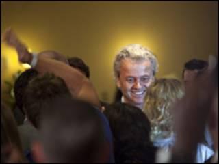زعيم حزب الحرية الهولندي، خيرت فيلدرز