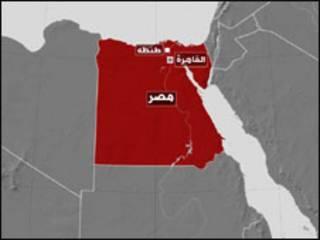 خريطة مصر