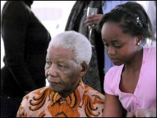 Nelson Mandela and Zenani