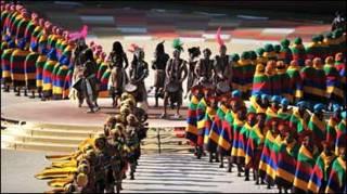 відкриття чемпіонату світу з футболу у Південній Африці
