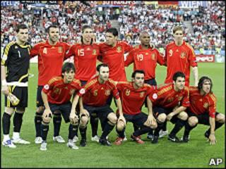 تیم ملی اسپانیا