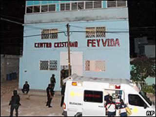 Centro de desintoxicación Fe y Vida, en Chihuahua, en el norte de México.