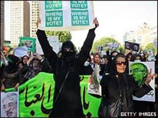 Biểu tình tại Iran phản đối kết quả bầu cử năm 2009