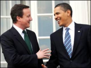 اوباما و کامرون