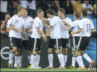 जर्मनी की टीम