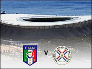 Karawa tsakanin Italiya da Paraguay