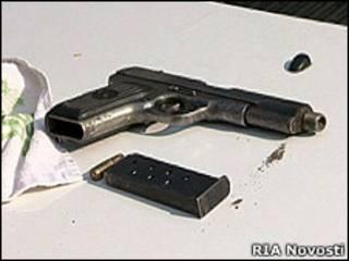 Пистолет, захваченный в результате спецоперации
