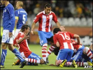 पराग्वे इटली मैच