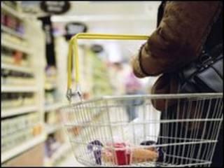 شراء مواد غذائية